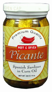 Picante Spanish Sardines in Corn Oil | Hot and Spicy