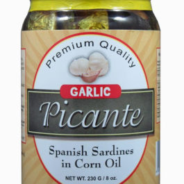 Picante Spanish Sardines in Corn Oil | Garlic