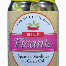 Picante Spanish Sardines in Corn Oil | Mild