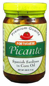 Picante Spanish Sardines in Corn Oil | Portuguese