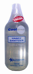 CoolMist Handy Sanitizer Alcospray | 125mL