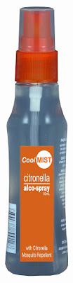 CoolMist Citronella Alcospray