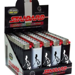 Standard Disposable Gas Lighter, Box of 50 | Philippines