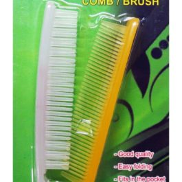 Travelmate Folding Comb or Brush | Yellow