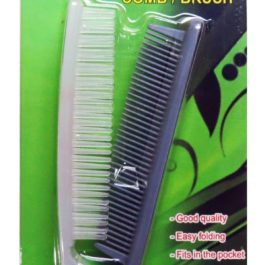 Travelmate Folding Pocket Comb or Brush | Grey