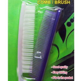 Travelmate Folding Pocket Comb or Brush | Violet