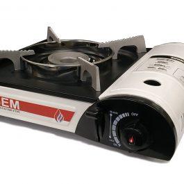 GEM Portable Butane Stove WHITE (GEM-203)
