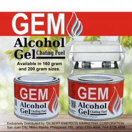 GEM Alcohol Gel Chafing Fuel (160g)
