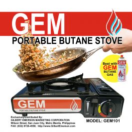 GEM Portable Butane Stove (GEM-101)