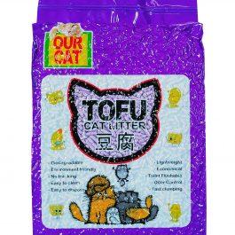 OUR CAT TOFU Cat Litter (6 Liters) – LAVENDER