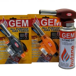 GEM All Purpose GAS TORCH (STRAIGHT) GE-511C
